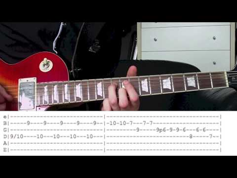 Standing In The Sun by Slash Guitar Lesson WITH TABS