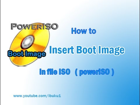 """boot image: How to insert boot image in file ISO – to  fix """" non bootable image """""""