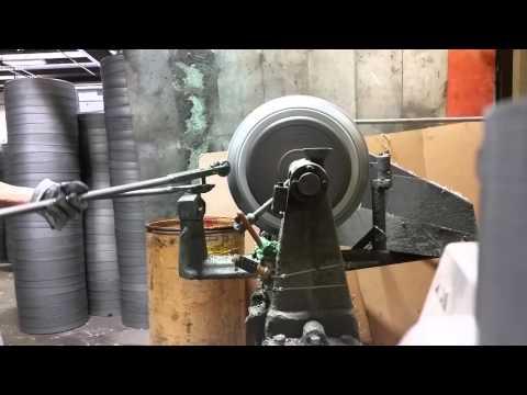 Hand spun aluminum