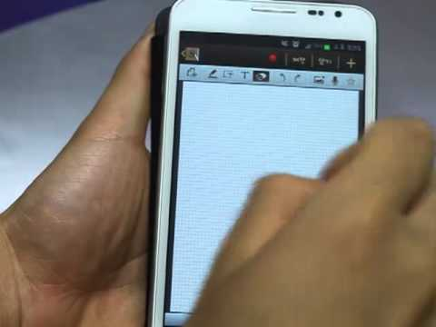 Samsung GALAXY Note Premium Suite - S note animation funtion -3