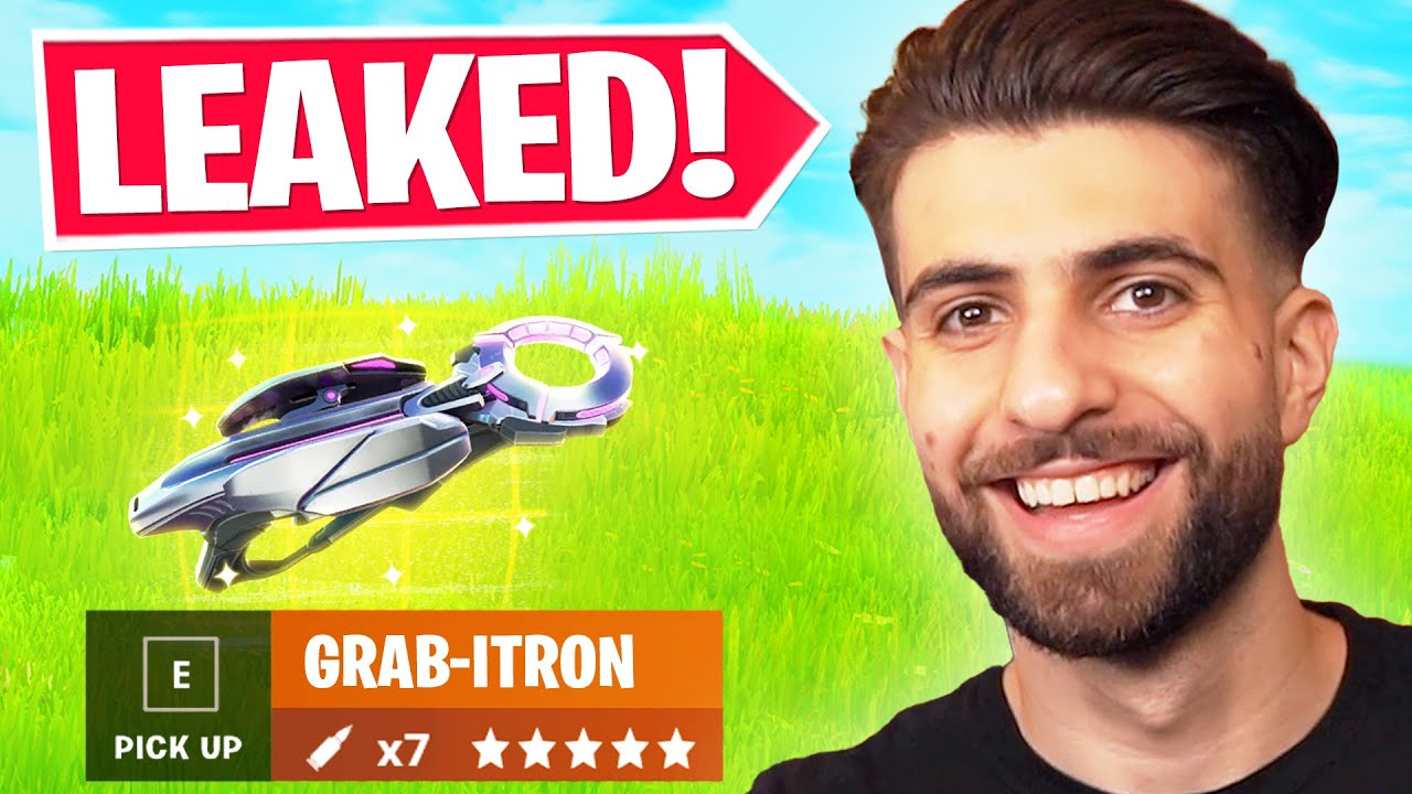 Everything Epic DIDN'T Tell You in The GRABITRON Update!