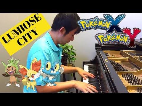 LUMIOSE CITY from Pokemon X & Y for Piano