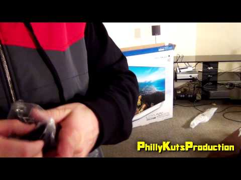 Black Friday Haul 2014: Samsung 1080p 55 inch Series 7150 LED Smart 3D 240hz TV Unboxing