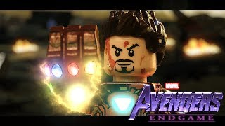 Download LEGO Avengers Endgame Final Scene - Iron man vs. Thanos! ( SPOILERS ) Video