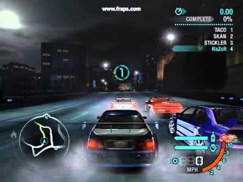 Need for Speed Carbon BMW M3 GTR Reward Card