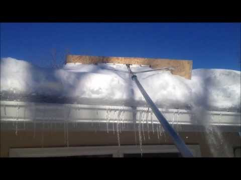 How to make a Snow Roof Rake