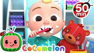 Yes Yes Brush Your Teeth + More Nursery Rhymes \u0026 Kids Songs - CoComelon