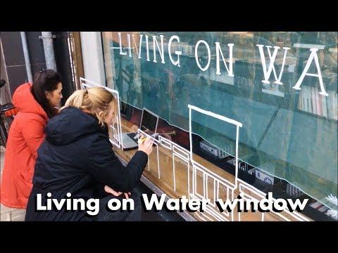 'Living On Water' window @ ABC Amsterdam