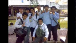 Khmer scholarship student to thailand after finish thai course at IFL cambodia 2009