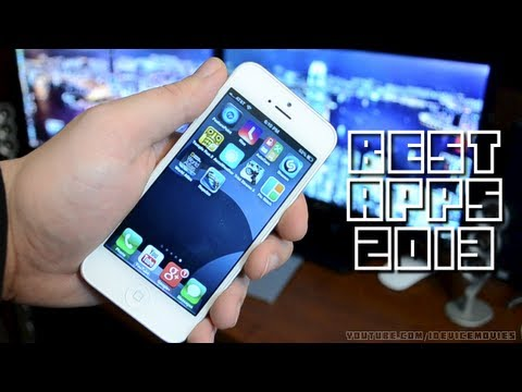 Top 10 Best iPhone & iPod Touch Apps 2013