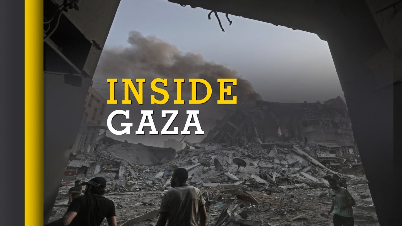 Israel-Palestinian clashes: Thousands flee their homes in Gaza   Hamas    World English News   WION