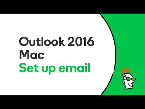 GoDaddy Office 365 Email Setup in Outlook 2016 (Mac) | GoDaddy
