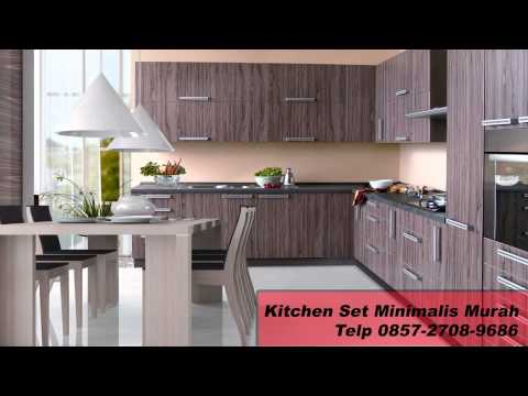0812 292 6741 Harga Kitchen Set Minimalis Per Meter Jasa Kitchen