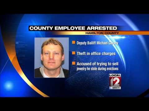 Hamilton County bailiff accused of theft