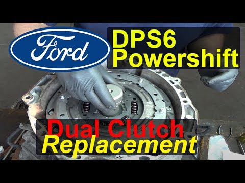 Ford Fiesta DPS6 Powershift Transmission Slipping/Shudder Part 2 (Clutch replacement)