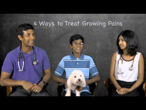 4 Ways to Treat Growing Pains