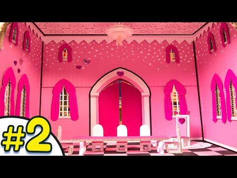 DIY Epic Cardboard Castle Part 2/3 - How to Decorate | Cardboard House Craft Ideas