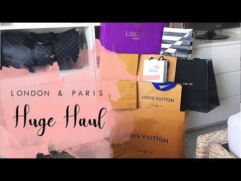 Chrisobv // HUGE London & Paris Haul // Louis Vuitton, Tom Ford and Chanel