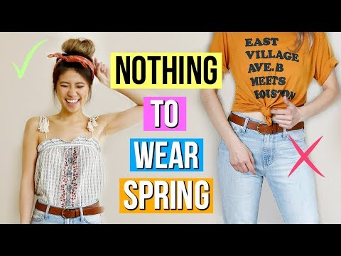 12 Spring Outfit Ideas! What to Wear When You Have Nothing to Wear!