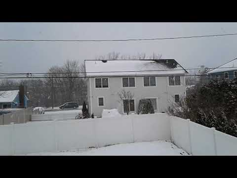 Long Island Nor'Easter Snow March 21, 2018 - Happy Spring