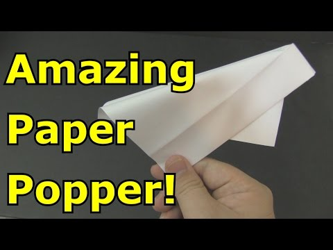 How to Make a Paper Popper -Origami-