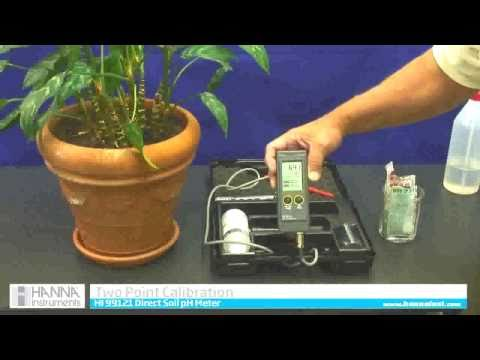 HI 99121 Direct Soil pH Meter