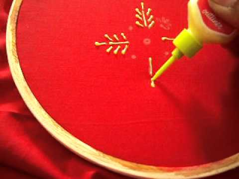 how to paint with gold paint tubes