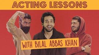 Acting Lessons feat. Bilal Abbas Khan | MangoBaaz