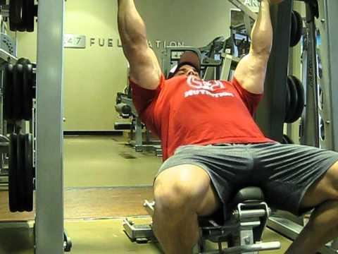 RXWhey.com Frankie Paulk Chest Workout