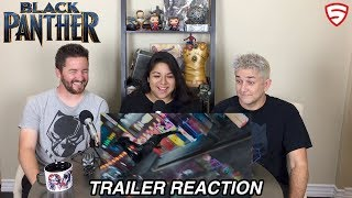 Marvel Studios Black Panther Official Trailer Reaction And Review