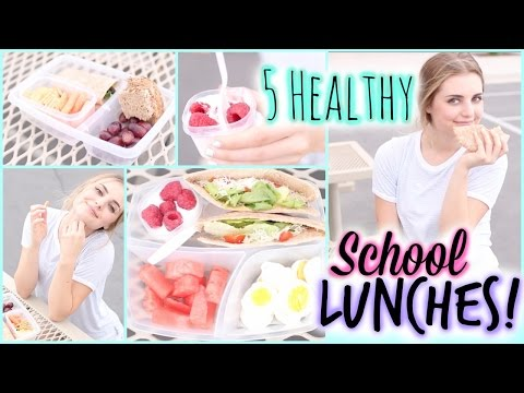A Week of Healthy Lunch Ideas for Back to School! | Aspyn Ovard
