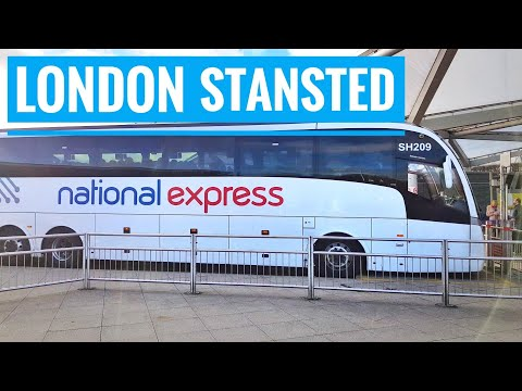 How to get London Stansted Airport to London city Bus National Express Ryanair & Easyjet