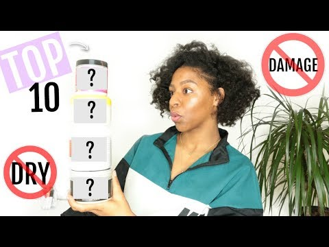 Top 10 Natural Hair Products of 2017 RANKED // Low Porosity Friendly | T'keyah B