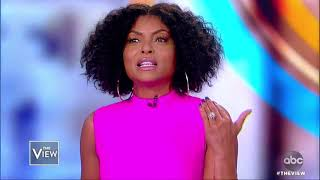 Taraji P. Henson Tells Her Love Story And New Foundation | The View