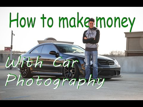 How to Earn Money from Car Photography