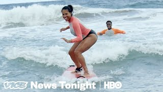 Black Paradise & Battling Over Macedonia: VICE News Tonight Full Episode (HBO)