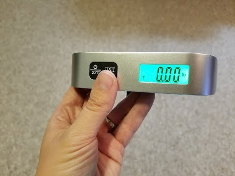 Daystyle Luggage Scale, 110lb/50kg Digital Hanging Luggage Weight Scale for Travel