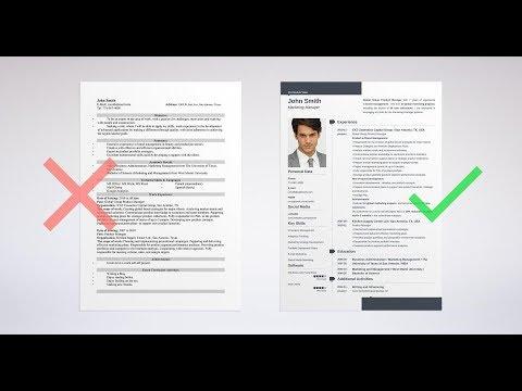 CV WRITING:BEST TIPS/FORMAT/EXAMPLES/SAMPLES IN URDU