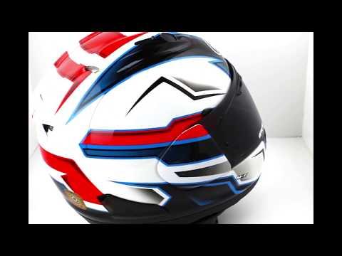 Arai RX-7V SCOPE White Motorcycle Helmet