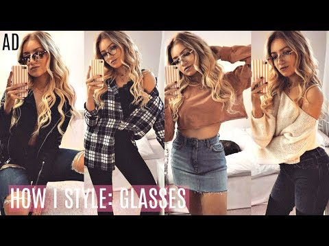 HOW I STYLE GLASSES LOOKBOOK 2017 / AD