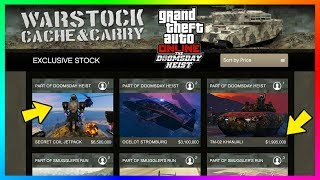 GTA Online The Doomsday Heist DLC - Vehicle Prices, NEW Supercars, Finale Payout & MORE! (GTA 5 QnA)