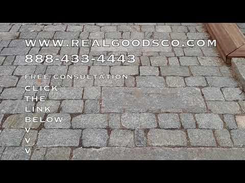 Granite Cobblestone Driveway