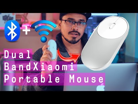 Awesome Dual Band portable MOUSE  !!Bluetooth + 2.4 Wireless  😍😍😍