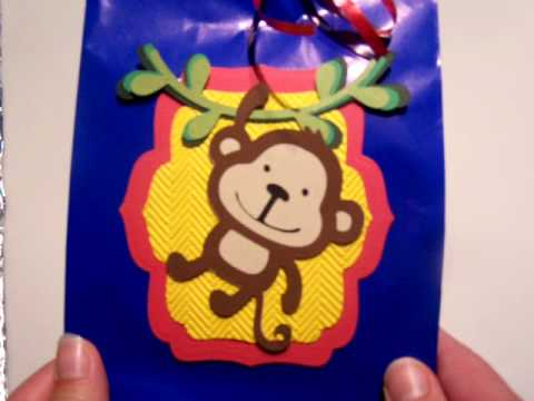 Monkey Themed Goodies for my Daughter's Bday Party