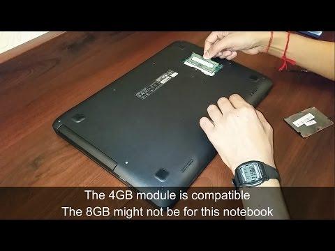 Asus X555L RAM Upgrade