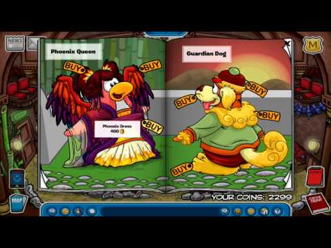 Club Penguin- Secrets of Bamboo Forest Catalogue!