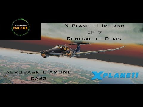 X Plane 11 Ireland Episode 7 Donegal to Derry