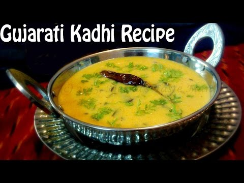 EASY Gujarati KADHI Recipe - In Hindi. Make within 15 minutes!
