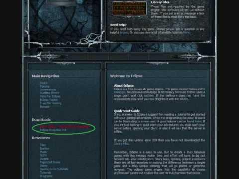 CrunkVirus TV : How to make a MMORPG for Free.