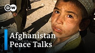 Download Afghanistan: Sparking violence overshadows peace talks with Taliban | DW News Video